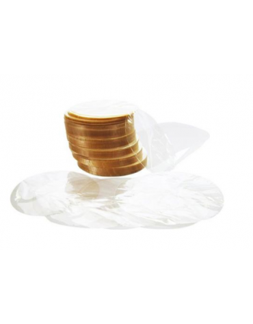 Dischi di cellophane per pressa hamburger, diametro 100 mm - 1 Kg.