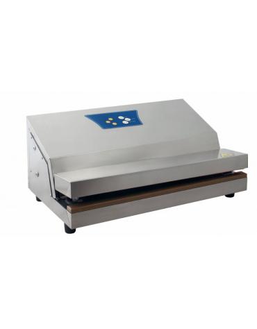 Macchina sottovuoto a barra saldante con comandi analogici digitali - potenza: 375 W - mm 375x300x170h