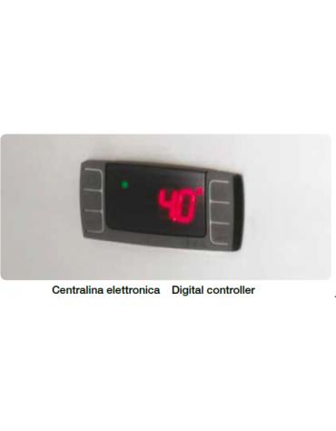 Armadio Congelatore Ventilato a doppia anta - Temp -18° -22° - Lt 1333 - 950 Watt - cm 148 x 83 x 201h