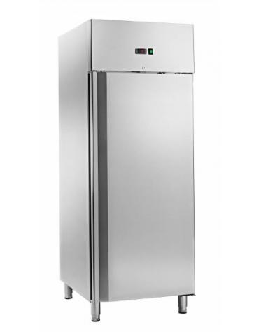 Armadio refrigerato ventilato inox per gelateria, temp. da - 18° C/- 22° C, 733 litri - mm 740x990x2010h