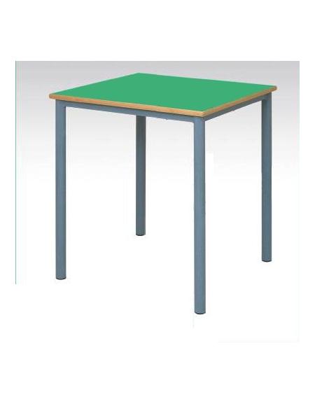 Banco tavolo quadrato senza sottopiano cm 70x70 banchi for Tavolo quadrato grande