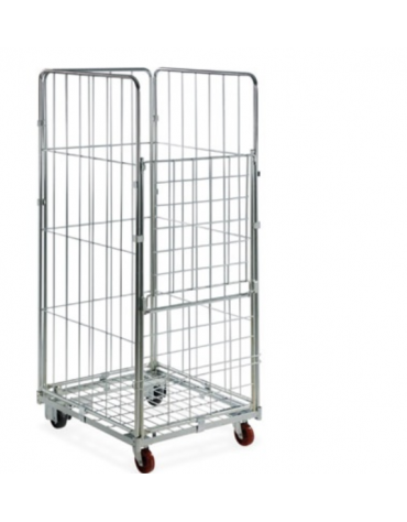 Carrello Roll container cm 72x81x180h
