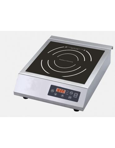 Piano di cottura ad induzione - Superficie utile di cottura diametro cm 22,5