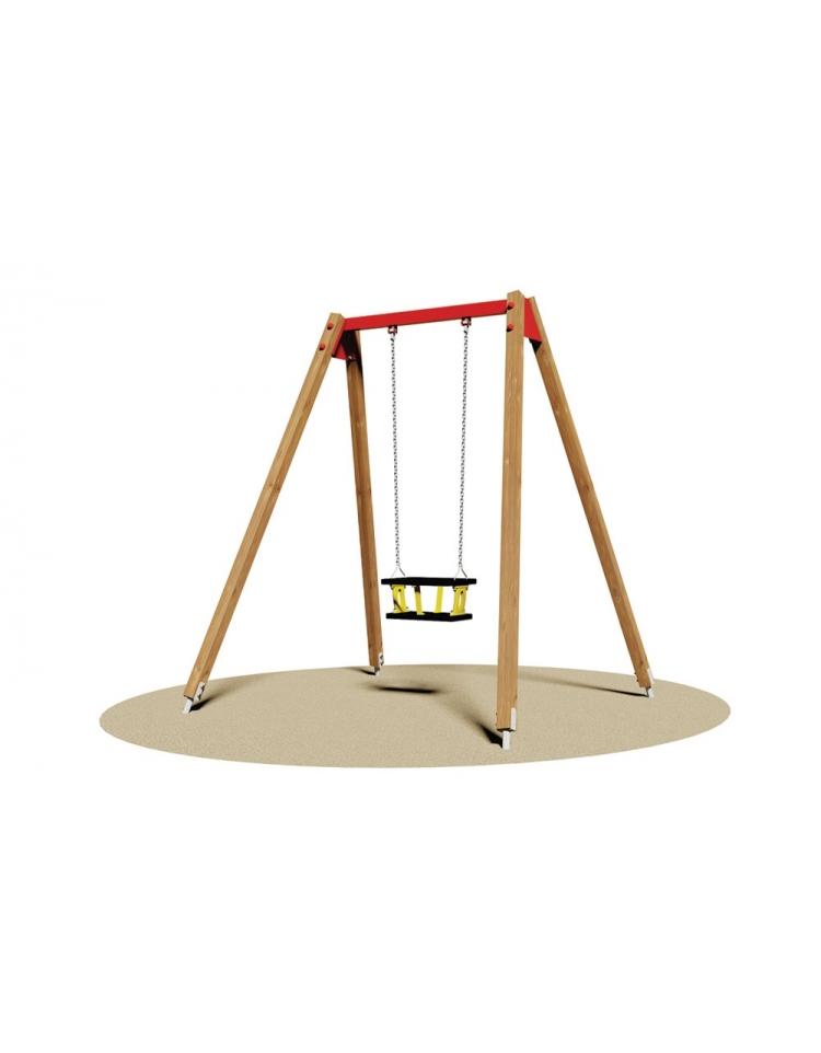 Altalena kenya 1 posto sedile gabbia altalene per - Altalene bambini per esterno ...