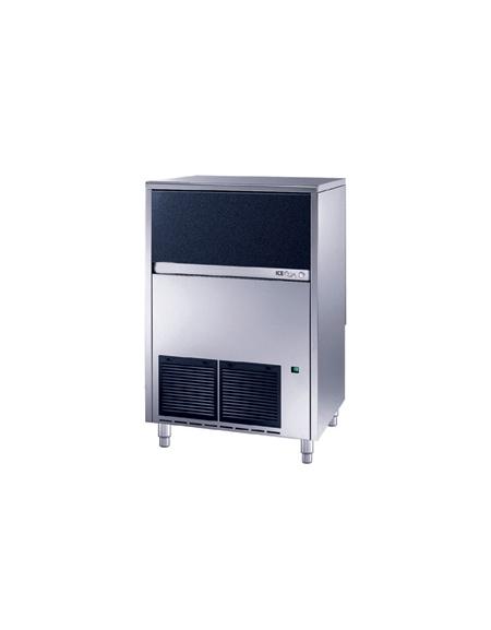 Fabbricatore produttore di ghiaccio a cubetti pieni 90Kg/24h