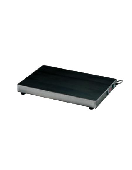 Piano caldo in acciaio inox 18/10 AISI 304 - termostato digitale - potenza 200W - cm 60x30x85h