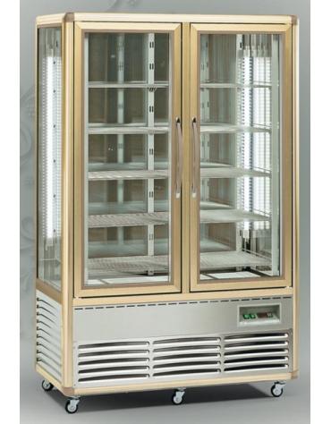 Vetrina esposizione pasticceria/gelateria no-frost cm.138x62x186