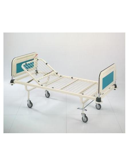 Spp rr letto 2 sez alzasch c crem 2 ruote fisse 2 for Arredamento ospedaliero