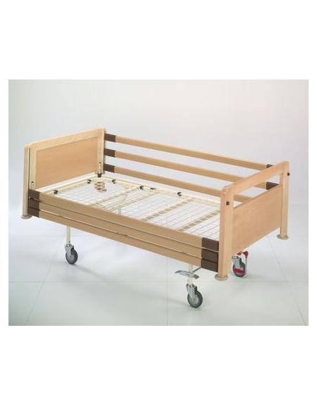 Letto 2 sez alzasch c manovella spl 4 ruote girevoli for Arredamento sanitario
