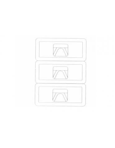 Cassettiera tripla