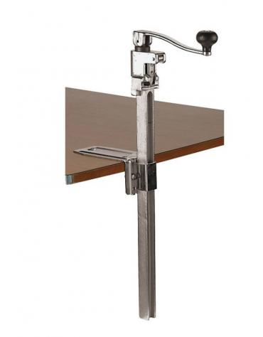 Apriscatole professionale da banco in alluminio pressofuso, acciaio - lunghezza cm 56