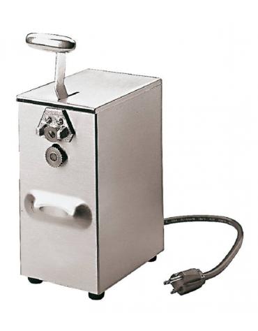 Apriscatole professionale elettrico - Motore a 2 velocità, altezza max scatole 17 cm - dim. cm 11x16x28h