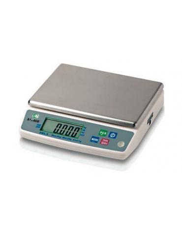 Bilancia digitale - Portata 10 Kg - dimensioni piattaforma cm 24x18
