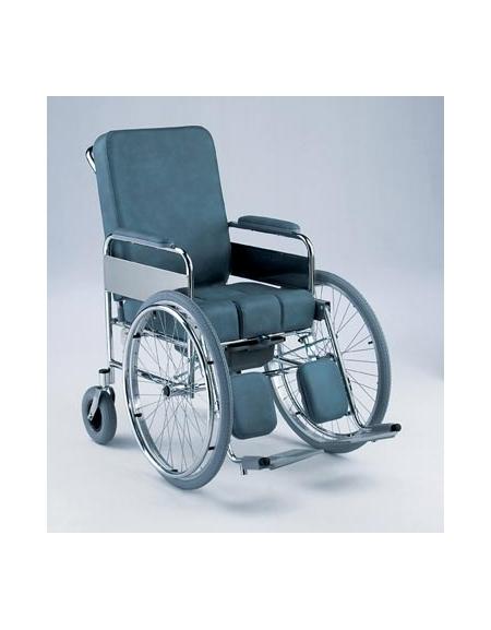 poltrona da comodo articolata con ruote posteriori - carrozzine