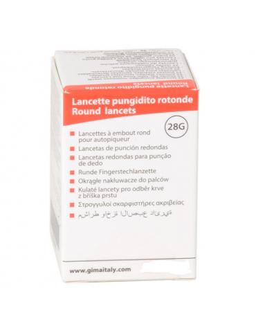 Lancette sterili ultrafini 100 pz da utilizzarsi con le penne pungidito