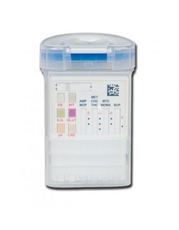 Cup test droghe - 8 parametri + adulteranti per cod. DN33856