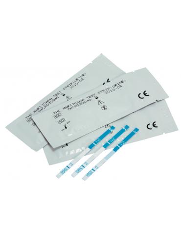 Test cocaina - striscia su urine - professionale -  in confezione da 50 strisce confezionate singolarmente in bustine sigillate