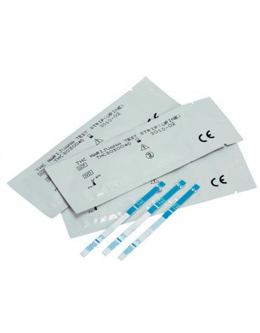 test marijuana - striscia su urine - professionale - confezione da 50 strisce confezionate singolarmente in bustine sigillate