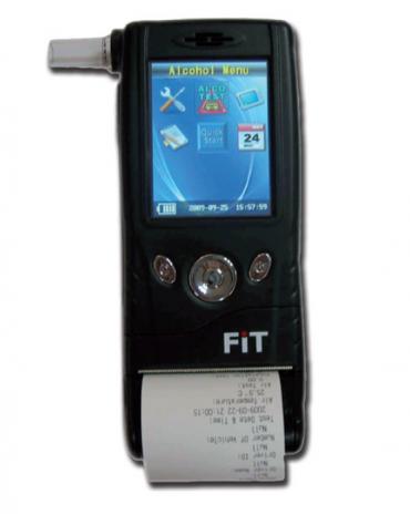 Tubi monouso per Etilometro Professionale FIT-133 (cod. DN33867)