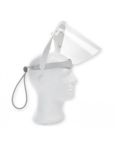 Maschera protettiva Teti con 2 visiere e 2 imbottiture con velcro - elevata protezione contro gli schizzi e gli spruzzi.