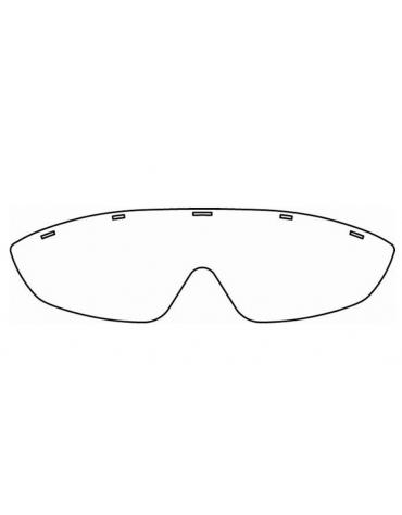 Mascherine di ricambio per occhiali protettivi (codice DN33895) - conf. da 20 pezzi