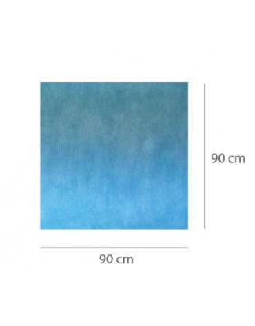 Tappetini assorbenti pre-tagliati per sala operatoria - assorbenza: 1.700 ml/m2 - cm 90x90 - 70pz.