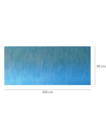 Tappetini assorbenti impermiabili pre-tagliati per sala operatoria - assorbenza: 1.700 ml/m2 - cm 90x200 - 30pz.