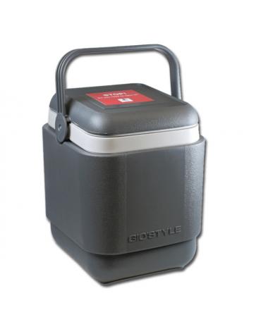 Porta vaccino professionale con 8 contenitori portaghiaccio da 400 ml - dim. int. 22 x 18 x h 24 cm