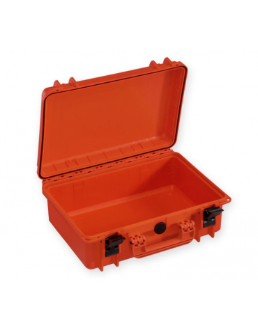 Valigia medicale senza spugna interna - colore arancione - 464 x 366 x h 176 mm