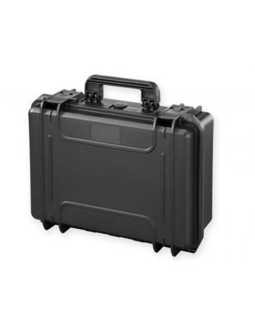 Valigia medicale senza spugna interna - colore nero - 464 x 366 x h 176 mm