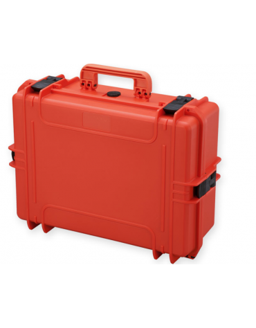 Valigia medicale senza spugna interna - colore arancione - 555 x 428 x h 211 mm