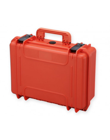 Valigia medicale con spugna interna - colore arancione - 464 x 366 x h 176 mm