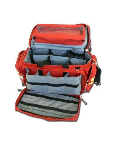 Borsa emergenza Smart in poliestere, vuota, colore rosso - 55 x 35 x h 32 cm