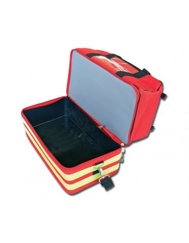 Borsa emergenza Life 2 in poliestere 600D con 5 borsette colorate - 47,5 x 33 x h 30 cm