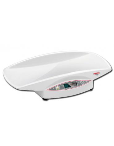 Bilancia pesa neonati con display LCD, portata: 15 kg - 60 x 35 x h 12 cm