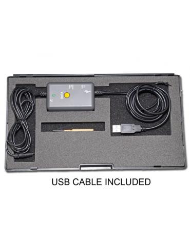 Plicometro digitale, con cavo USB per trasferimento dati - misurazione 0-12 mm