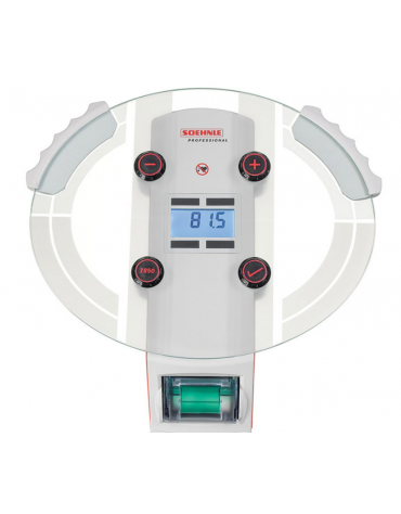 Bilancia digitale per il controllo della massa muscolare, grasso corporeo, liquidi , IMC e apporto calorico - capacità: 180 kg