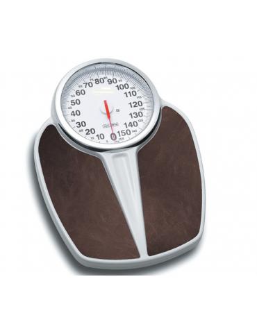 Bilancia meccanica, portata: 160 kg, quadrante Ø 18cm, precisione: 1000 g, peso: 3 kg - 43x38xh7 cm