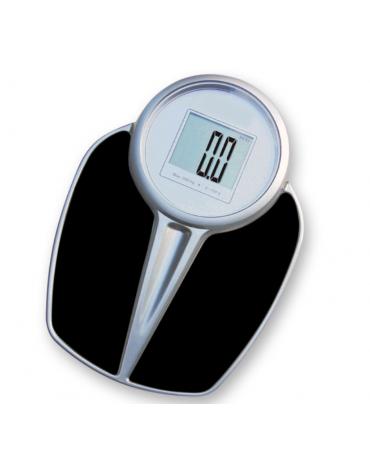Bilancia digitale con grande display LCD, portata: 200 kg, precisione: 100 g, batteria al litio (inclusa) - 43x38xh7 cm