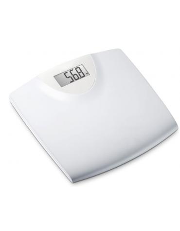 Bilancia elettronica da bagno con pedana in plastica, portata: max 150 kg - cm 29,9x29,7x3,24h