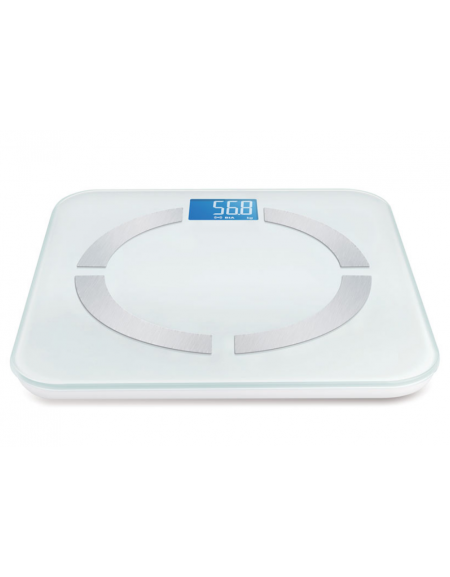 scala per misurare il grasso corporeo e la massa muscolare