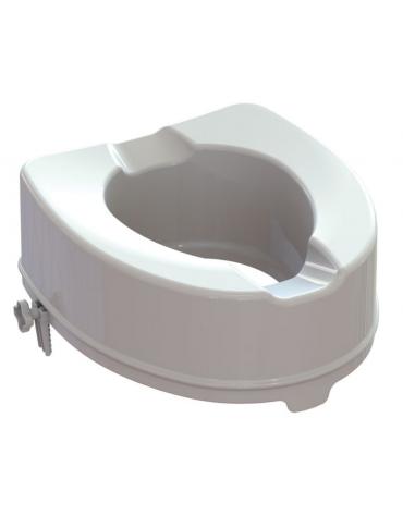 Rialzo per WC con sistema di fissaggio laterale 14 cm, portata massima 225 kg. - 36,5 x 40,5 cm