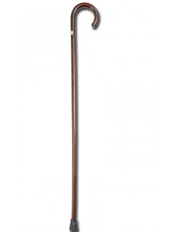 """Bastone in legno """"GIOTTO"""" curvo, donna, marrone,  carico max 100 kg, cm 92h"""