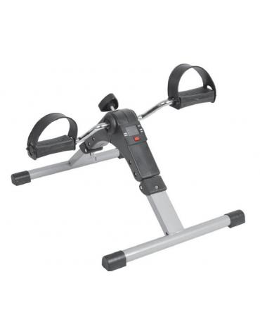 Pedaliera per fisioterapia con manopola per regolare la tensione, 5 funzioni - cm  37x49.5x26h