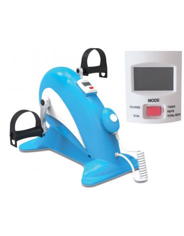 Pedaliera elettrica con schermo per fisioterapia, direzione pedali avanti/indietro - mm 498x308x360h
