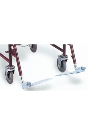 Poggiapiedi di ricambio per sedia a rotelle DN34260