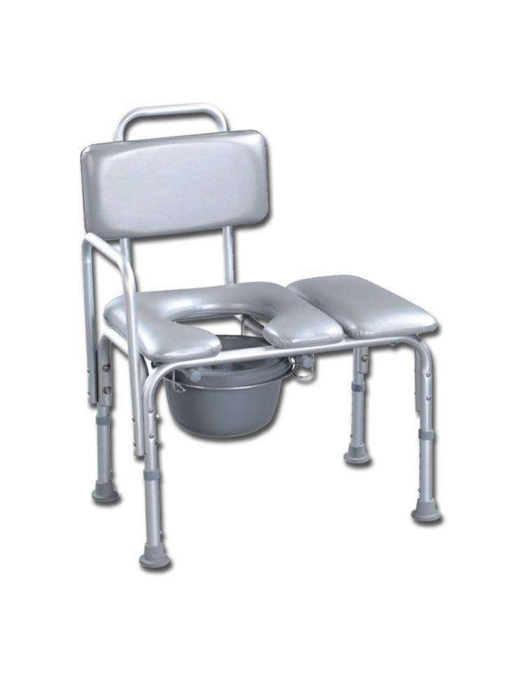 Sedia da bagno con schienale in alluminio seduta - Sedia da bagno ...