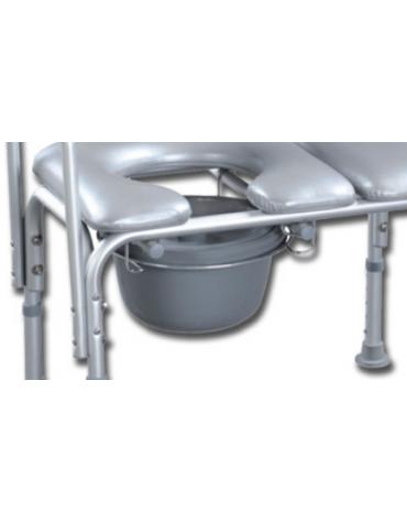 Baccinella WC in plastica - ricambio Ø 26 x h 15 cm per cod. DN34259 - DN34264 - DN34265