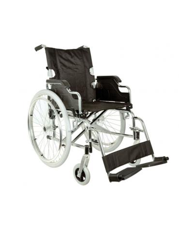 Sedile + schienale antifiamma per carrozzina in acciaio Royal cod. DN34297
