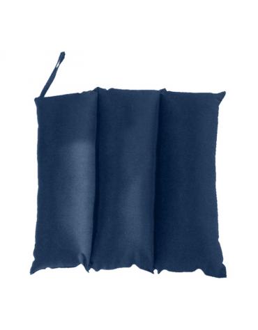 Cuscino antidecubito per collo a 3 sezioni in fibra cava siliconata con fodera 100% cotone sanforizzato - cm 45 x 45